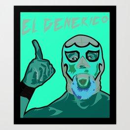 ROH El Generico Art Print