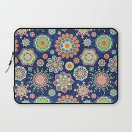 Folky Flora-blue Laptop Sleeve