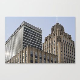 Winston Tower and Reynolds Building Canvas Print