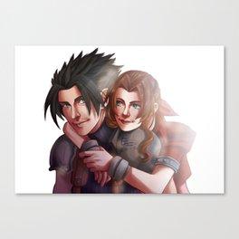 Zack & Aeris Canvas Print