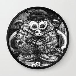 Mr. Brainhead Wall Clock