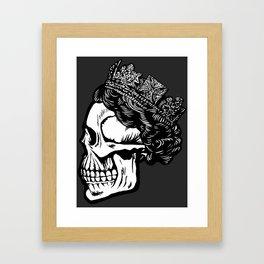 House of Rawkus Skull Framed Art Print