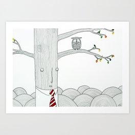 Evaluation Art Print
