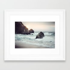 Ocean Shores Framed Art Print