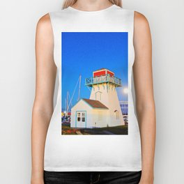 Summerside Harbour lighthouse Biker Tank