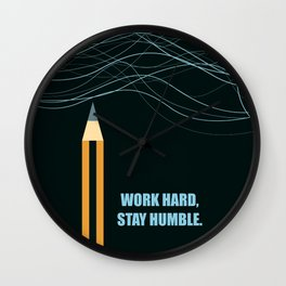 Lab No.4 -Scratch Your Own Itch Business Quotes poster Wall Clock