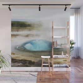 Aqua Bubble Wall Mural