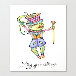 May You Dance Canvas Print