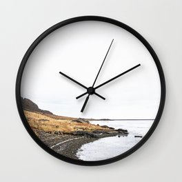 The Mountains Are Calling IIII Wall Clock