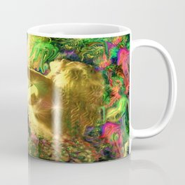 Nude mermaid & jelly fish ladykashmir Coffee Mug