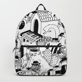DOODLE WORLD Backpack