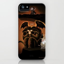 Wizardly Shenanigans iPhone Case
