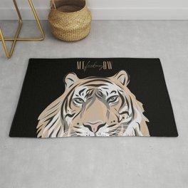ME-fucking-OW - Sassy Tiger Rug