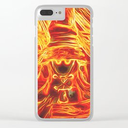 Incendium Waltz Clear iPhone Case