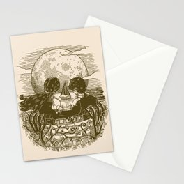 Love and Death At the Beach Stationery Cards