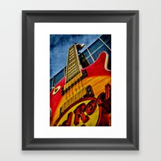 Hard Rock Cafe Vegas Framed Art Print