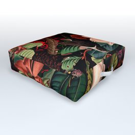FLORAL AND BIRDS XIV Outdoor Floor Cushion