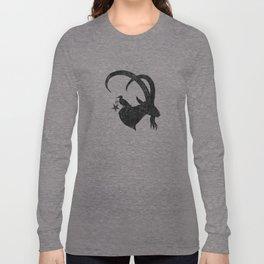 Ebon Ibex Logo Long Sleeve T-shirt