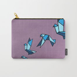 Origami Paper Birds Carry-All Pouch