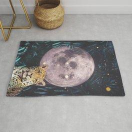 Moon and Cheetah Rug
