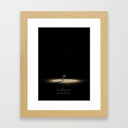 Listener gig poster Framed Art Print