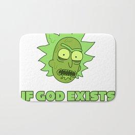If god exists it's me Bath Mat