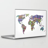 decal Laptop & iPad Skins featuring Overdose World by Bianca Green