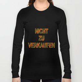 NOT FOR SALE E Long Sleeve T-shirt