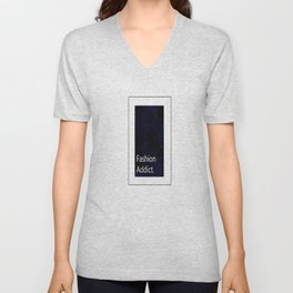 Fashion City: Fashion Addict Unisex V-Neck