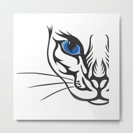 Wild Cat by FreddiJr Metal Print