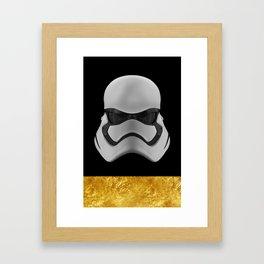 Storm trooper Framed Art Print