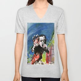 Nick Cave Red Right Hand Unisex V-Neck