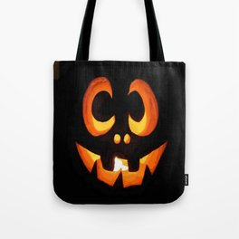 Vector Image of Friendly Halloween Pumpkin Tote Bag