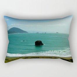 Battle Rock Rectangular Pillow