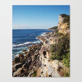 Rocky Australian Coastline Canvas Print