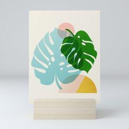 Abstraction_PLANTS_01 Mini Art Print