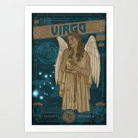 Zodiac 6: Virgo Art Print
