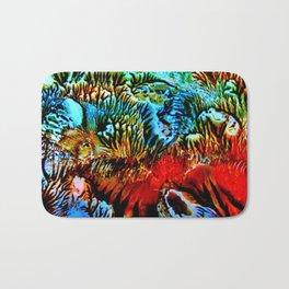 Colorful Underwater Plants Bath Mat