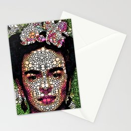 Frida Kahlo Art - Define Beauty Stationery Cards