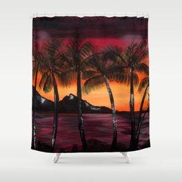 Hawaiian Tequila Sunrise 2 Shower Curtain