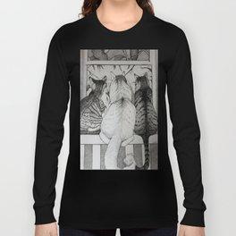 It's a Cat's World Long Sleeve T-shirt