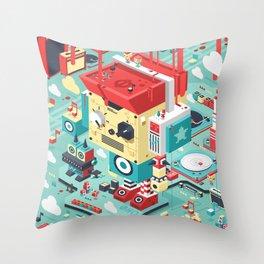 Music City Throw Pillow