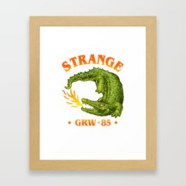 Strange Framed Art Print