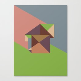Poligonal 255 Canvas Print