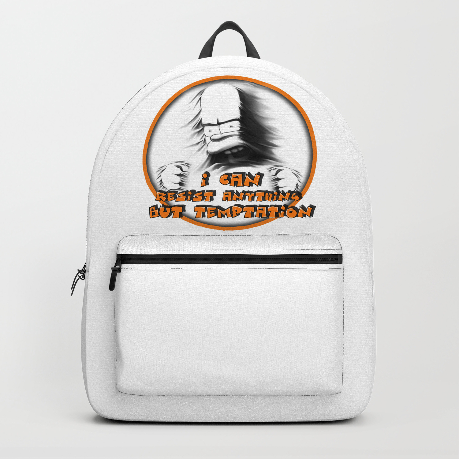 Print Illustration Of The Famous Cartoon Character Backpack By Oleggol Society6