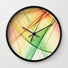 tequila sunrise Wall Clock