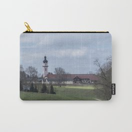 View on Peter and Paul church Laupheim-Germany Carry-All Pouch