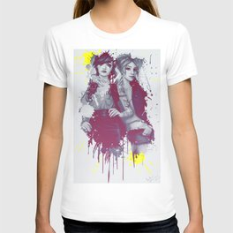 two girls T-shirt