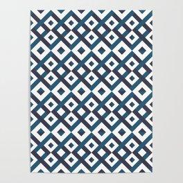 Azure Maze Poster