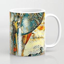 AnimalArt_Elephant_20170903_by_JAMColorsSpecial Coffee Mug